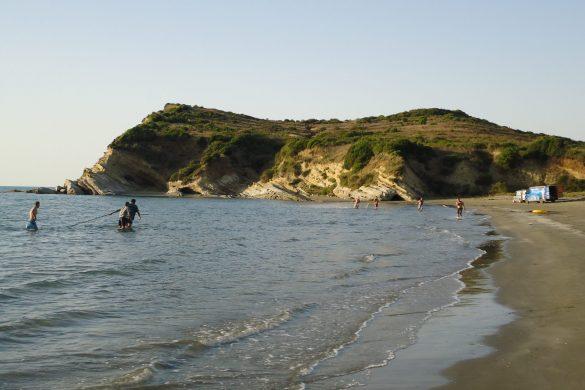 De mooie stranden bij Vlorë