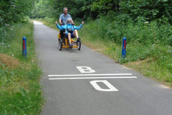 Vennbahn fietsvakantie