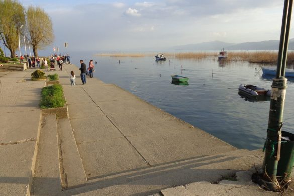 Camping Rino aan het meer van Ohrid