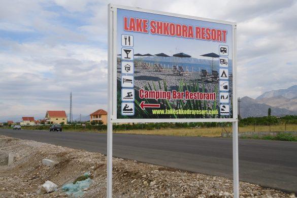 Het Engelse Resort aan het Shkodërmeer