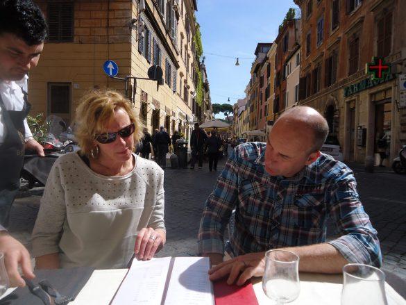 april in Rome