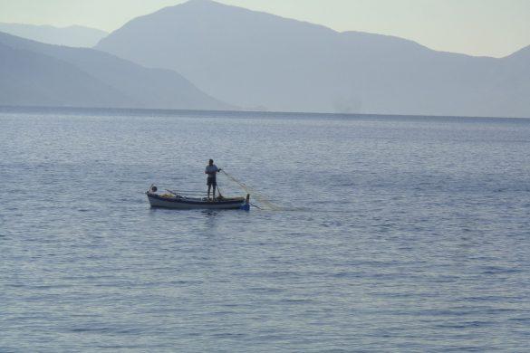 visser bij Agios Yannis