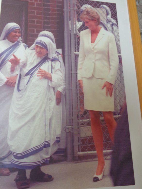 Moeder Teresa en lady Di