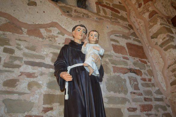 heilige Antonius in Albanië