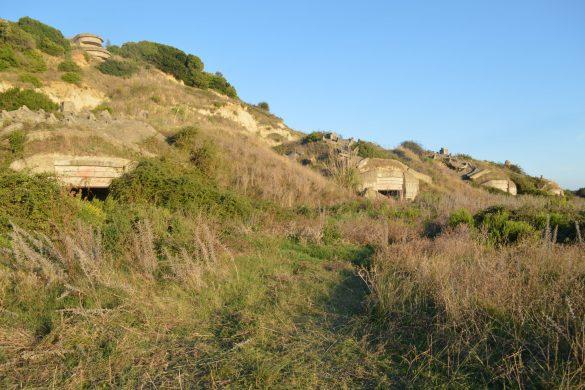verlaten bunkers