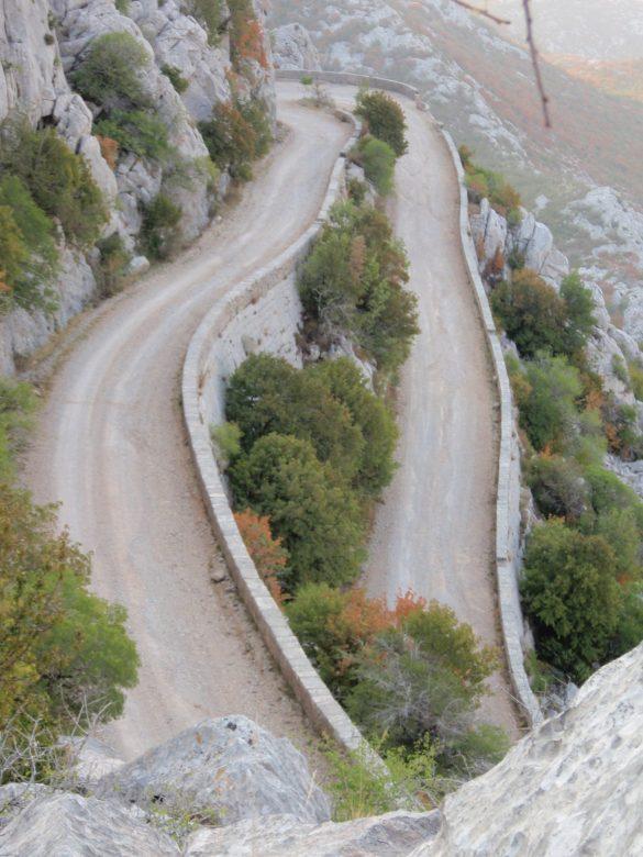 Sveti Rok route in Kroatië