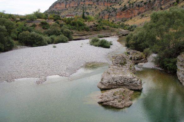 De heerlijke Cijevna rivier
