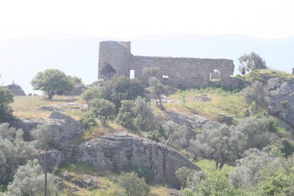 vlakbij de minicamping Selene aan het Bafa meer