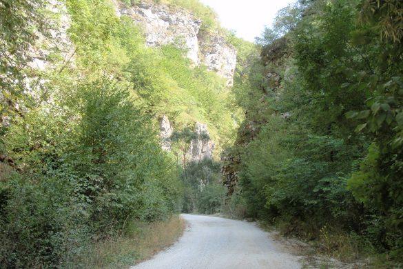 de weg langs de Radika