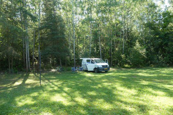 Camping bij Pilsen
