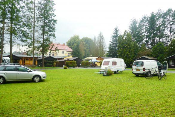 camping in Třebíč