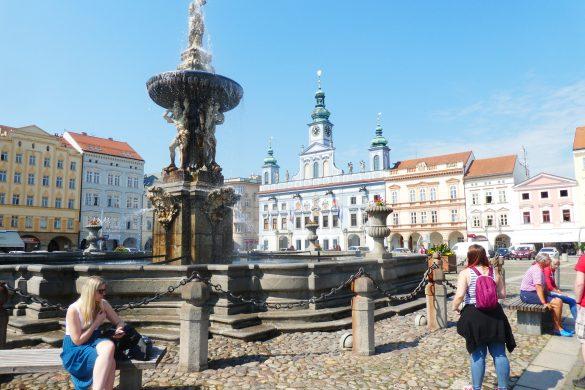 centrale plein in České Budějovice