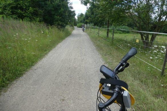 fietsen vanaf de camping bij Pilsen