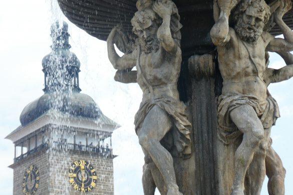 fontein České Budějovice