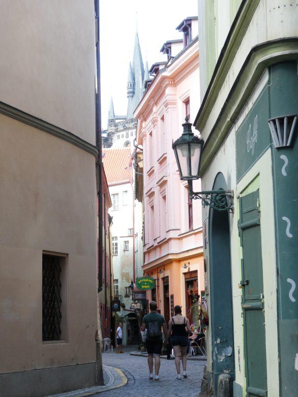 smalle straat