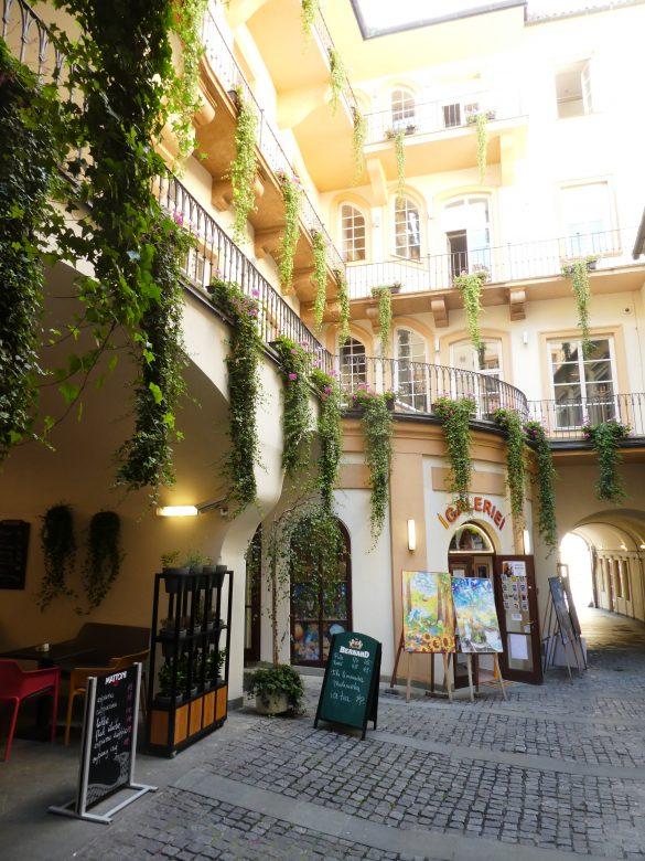 straatje in Praag