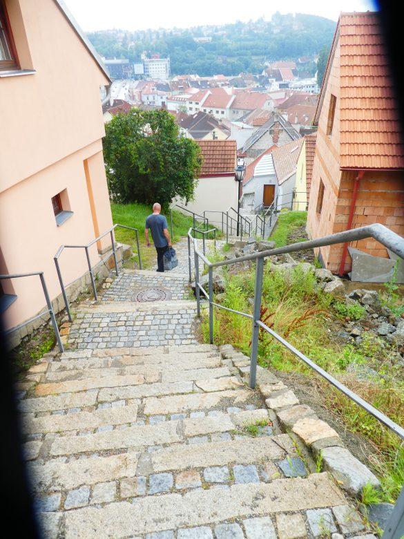 trappen in de Joodse wijk