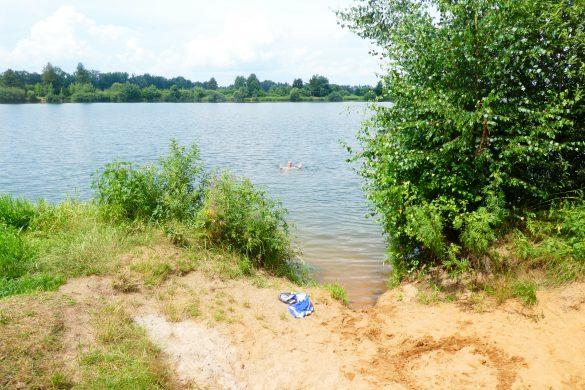 fietsen en zwemmen bij Kemp Měruše