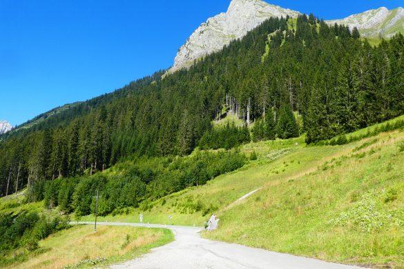 over de Alpen