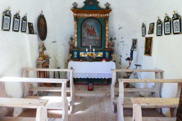 binnenkant kapelletje