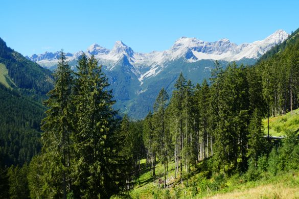 dwars door de Alpen