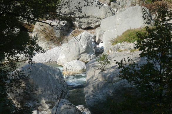 de rivier de Sarca