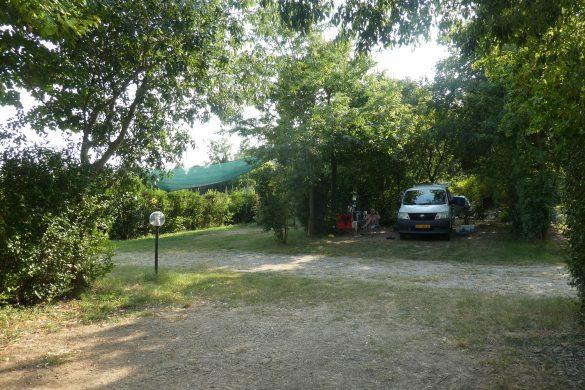ons plekje op Agricampeggio Alba