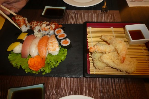 prachtige sushi