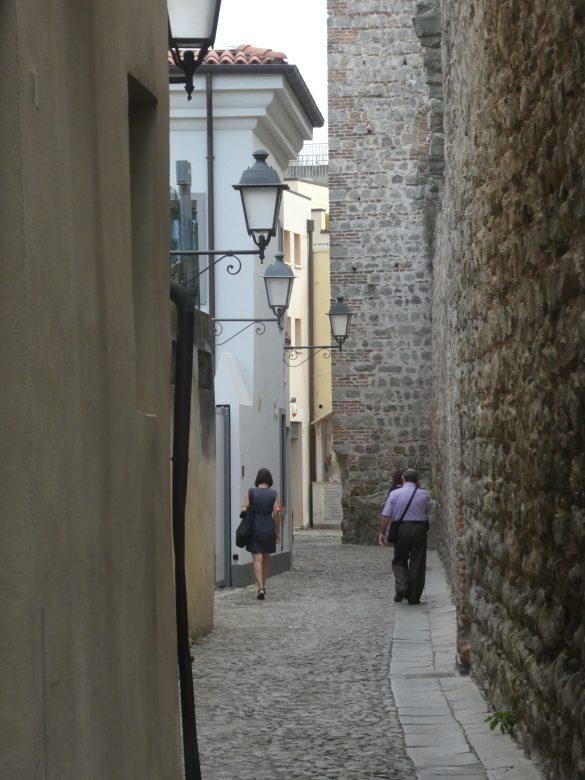 smalle straat Monselice