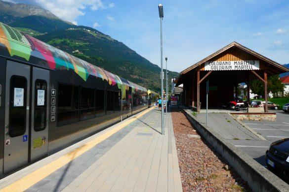 station Goldrain