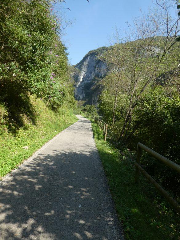 fietsroute langs de Brenta