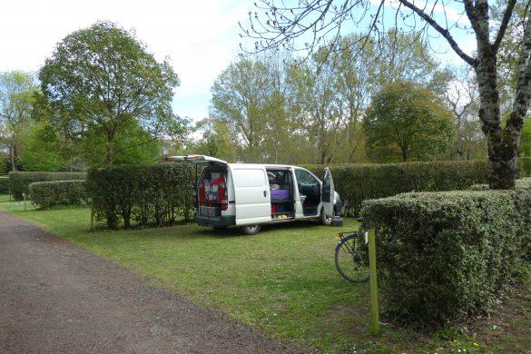 camping Le Bec de Cisse in Vouvray aan de Loire