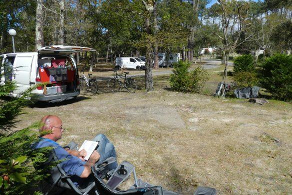 camping bij Capbreton