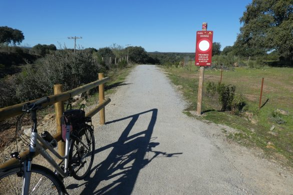 fietspad Via Verde de Monfragüe
