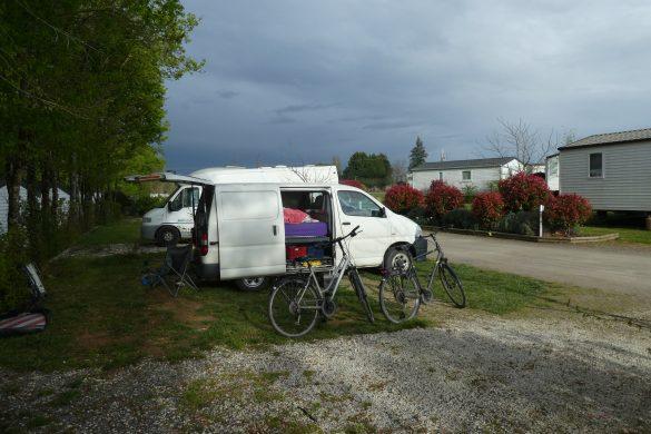 goedkope camping op de route naar Marokko