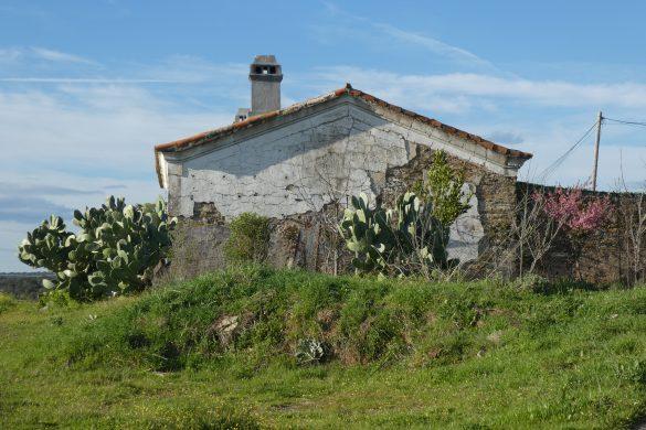 verlaten huisje Via Verde de Monfragüe