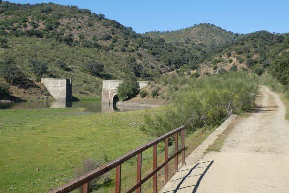 einde van het fietspad van El Ronquillo