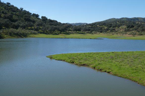 het stuwmeer van Minilla