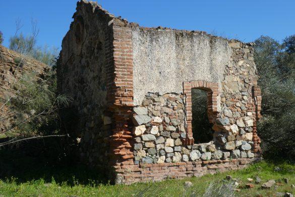 oud huis aan het fietspad van El Ronquillo